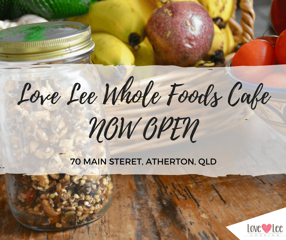 Love-Lee Wholefoods Cafe Now Open