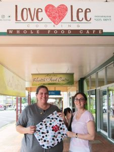 Love - Lee Cooking Wholefoods Cafe Supports Boomerang Bags